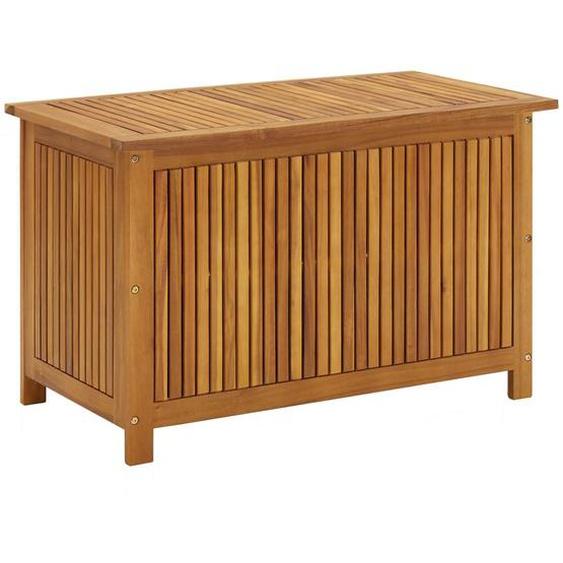 Garten-Aufbewahrungsbox 90x50x106 cm Massivholz Akazie