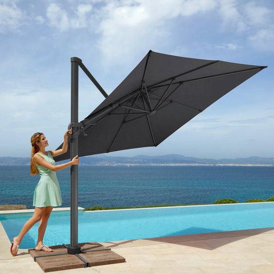 garten gut Sonnenschirm »Big Roma«, LxB: 300x300 cm, ohne Schirmständer, neigbar