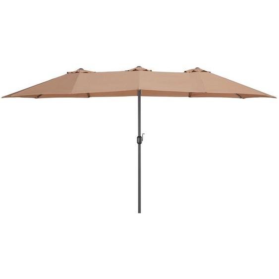garten gut Sonnenschirm »Fuerteventura«, LxB: 460x250 cm, Inkl. Schutzhülle, ohne Schirmständer
