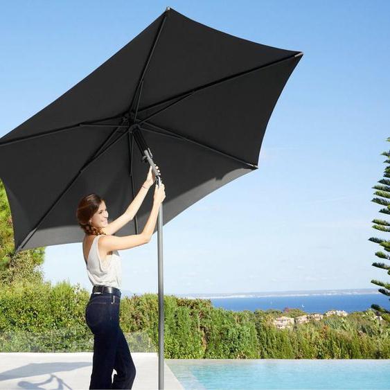 garten gut Sonnenschirm »London«, Inkl. Schutzhülle, ohne Schirmständer