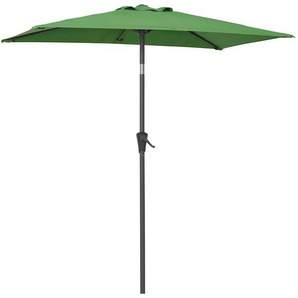 garten gut Sonnenschirm, LxB: 120x190 cm, abknickbar, ohne Schirmständer