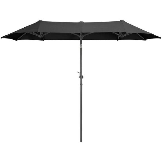garten gut Sonnenschirm »Malaga«, LxB: 290x150 cm, Inkl. Schutzhülle, ohne Schirmständer