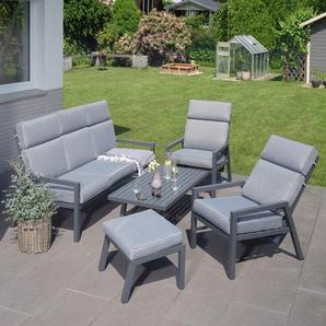 Garten Sitzgruppe Maribo, Sofa+ 2 Sessel