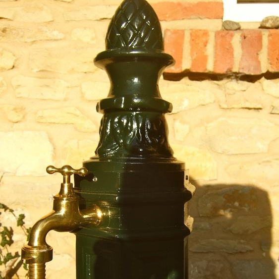 Garten Zapfstelle Wasserzapfsäule, Wasserzapfstelle Brunnen, ALU Standbrunnen