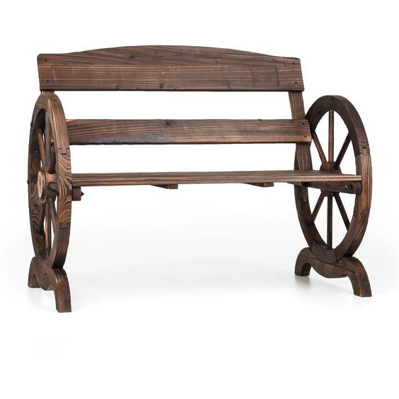 Gartenbank aus Massivholz