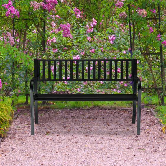 Gartenbank aus Stahl Chandra
