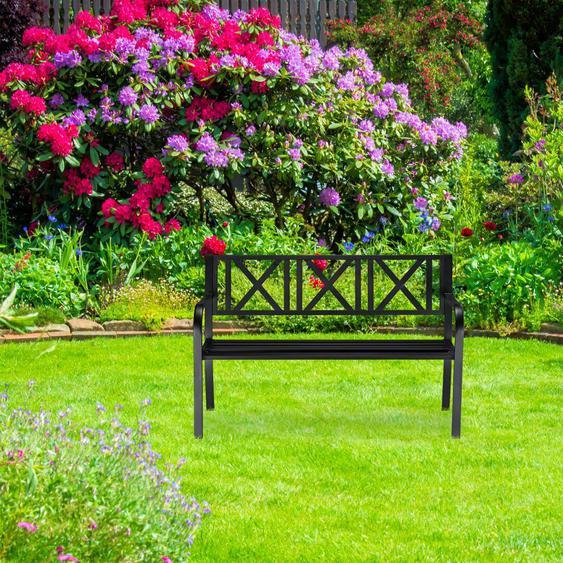 Gartenbank aus Stahl Ofelia