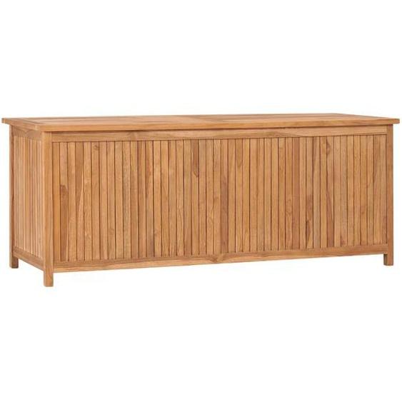 Gartenbox 150x50x58 cm Massivholz Teak