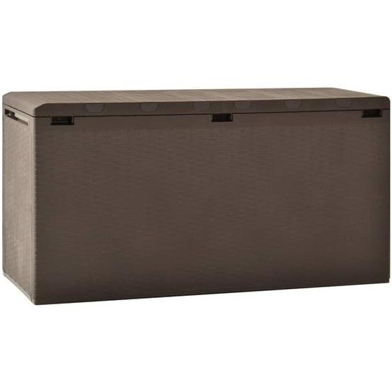 Gartenbox Braun 114x47x60 cm