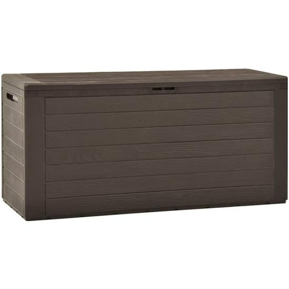 Gartenbox Braun 116x44x55 cm