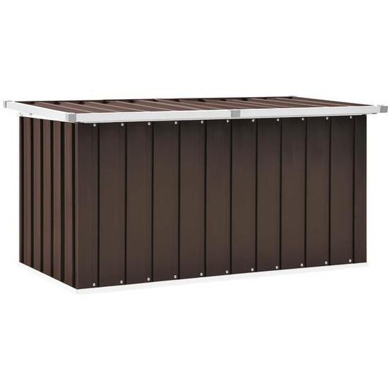 Gartenbox Braun 129 x 67 x 65 cm