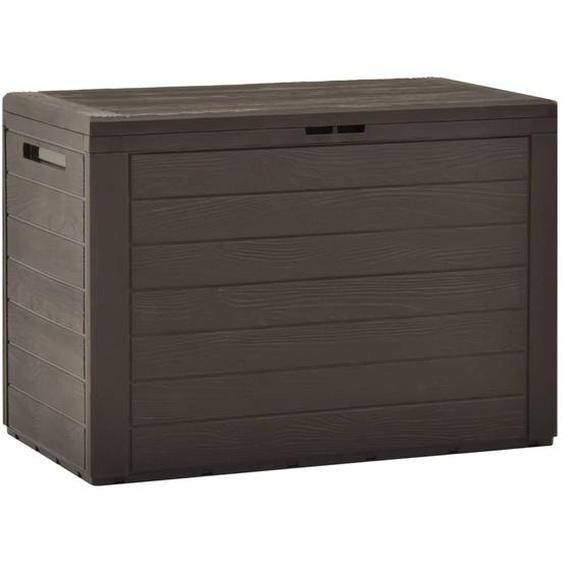 Gartenbox Braun 78x44x55 cm