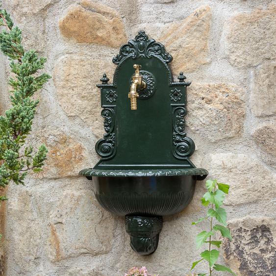 """Gartenbrunnen Waschbecken mit Gartenschlauchanschluss Wandbrunnen Wasserhahn ¾"""""""
