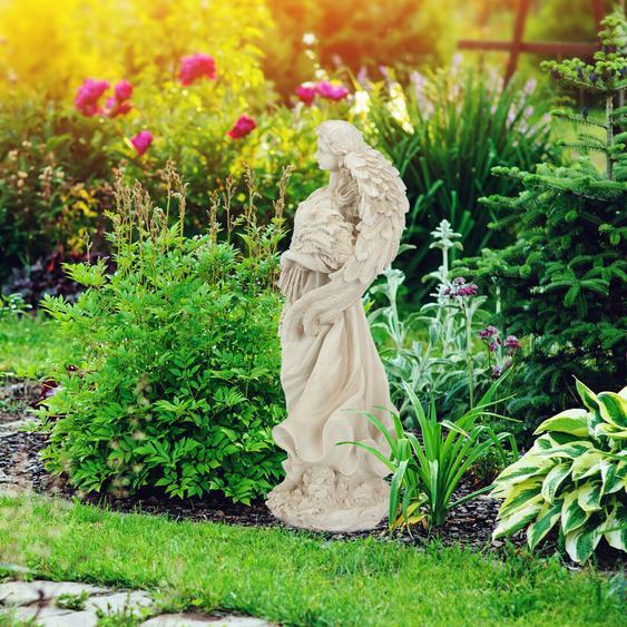 Gartenfigur Engel Leona