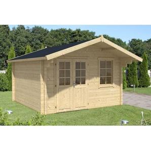 Alpholz - Gartenhaus aus Holz Modell Mona-70 , ohne Imprägnierung , ohne Farbbehandlung , Imprägnierung ab Werk:ohne Imprägnierung