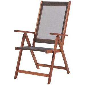 Gartenklappstuhl   holzfarben   Akazie   60 cm   111 cm   68 cm   Möbel Kraft