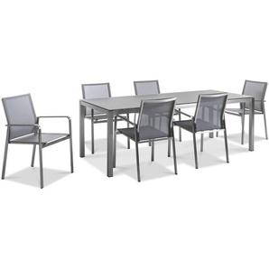 Gartenmöbel-Set, Edelstahl