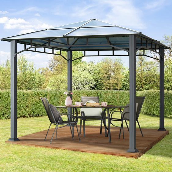 Gartenpavillon Hardtop Sunset Deluxe, 3x3m