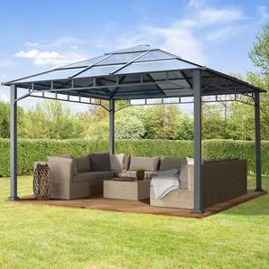 Gartenpavillon Hardtop Sunset Deluxe, 4x4m