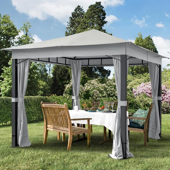 Gartenpavillon Sunset Premium stone, 3x3m