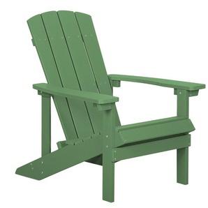 Gartenstuhl grün Kunstholz ADIRONDACK
