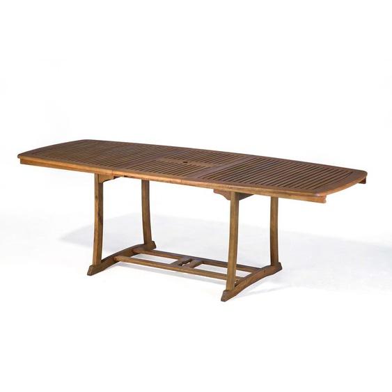 Gartentisch mit Auszug, Holz