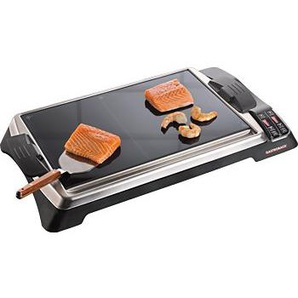 Gastroback Tischgrill Teppanyaki Glas-Grill Advanced, 1280 W, 1280 Watt