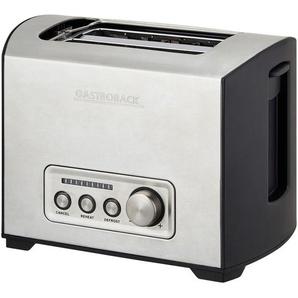 GASTROBACK Toaster  42397 - silber - Edelstahl, Kunststoff - 24,1 cm - 18,5 cm - 17,4 cm | Möbel Kraft
