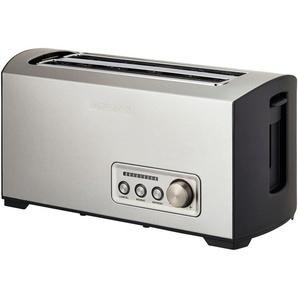 GASTROBACK Toaster  42398 ¦ silber ¦ Edelstahl, Kunststoff ¦ Maße (cm): B: 36,5 H: 18,5 T: 17,7