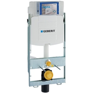 Geberit GIS WC-Element mit Sigma Unterputz Spülkasten Bauhöhe 1140mm