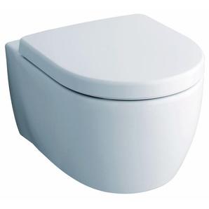 Tiefspül-Wand-WC iCon Rimfree mit Sitz im Komplett-Set