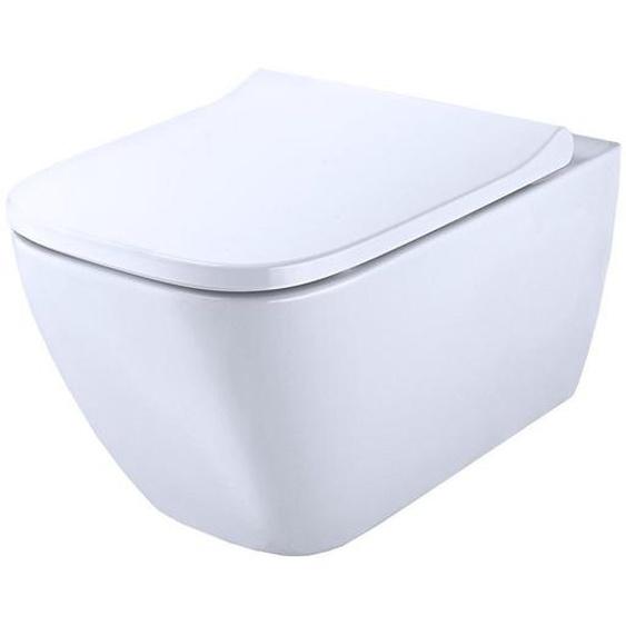 Geberit Wand-WC-Set Smyle Square spülrandlos weiß