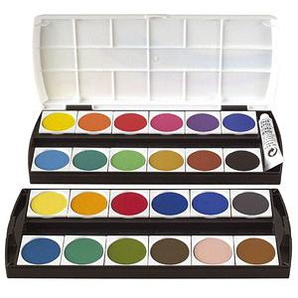 Geha Wasserfarbkasten 24 Farben