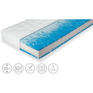 Gel-/Komfortschaum-Matratze  Twinflex Gel ¦ weiß