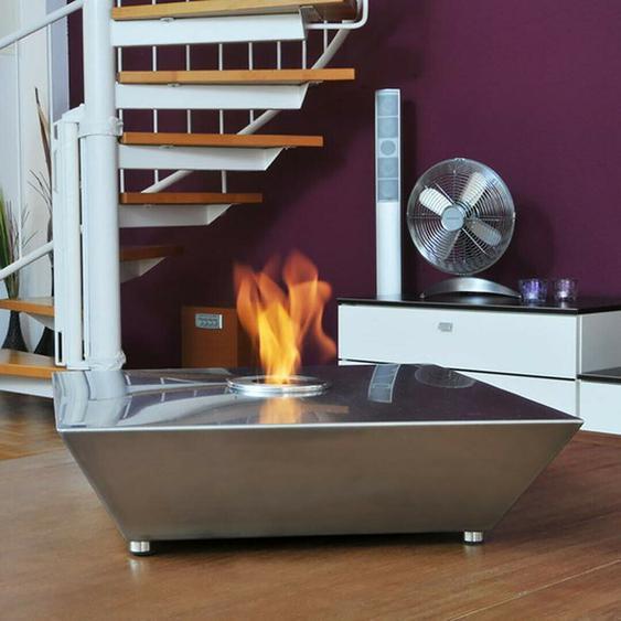 Gelkamin Hark Fuego 10 Edelstahl Indoor Outdoor Tischfeuer Dekokamin