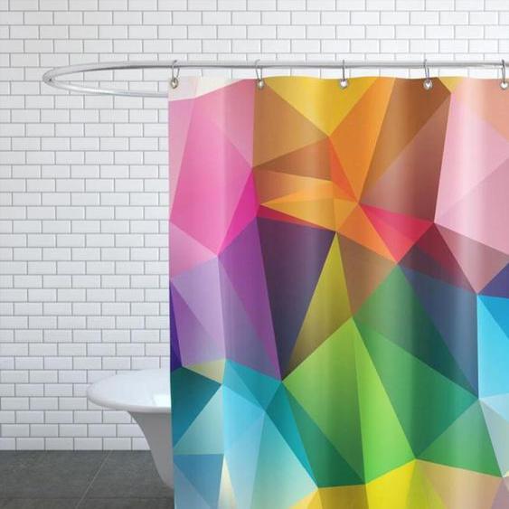 Geometric View-Duschvorhang