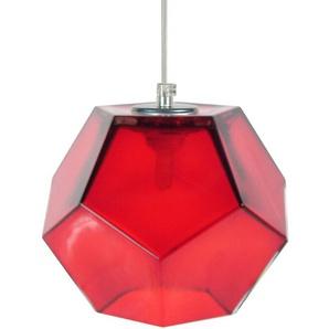 Geometrische Pendelleuchte 1-flammig Rosa