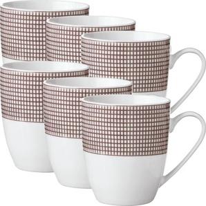 Gepolana Kaffeebecher braun 6-teilig