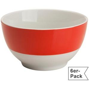 Gepolana Müslischale 6er-Pack rot