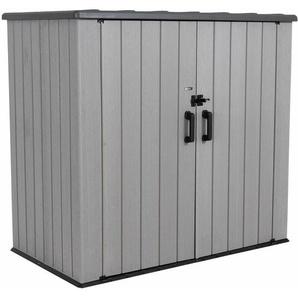 Geräte- und Gartenschrank XXL dunkelgrau 110,5 x 192 x 176 cm - Lifetime