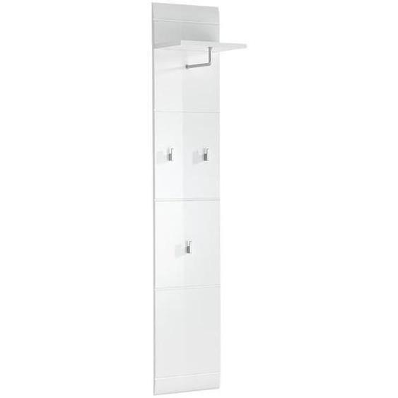 Germania Adana Garderobenpaneel 30x23x152cm Weiß