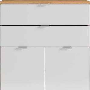 GERMANIA Badkommode GW-Mauresa B/H/T: 60 cm x 97 34 cm, Anzahl Schubladen: 2 weiß Bad-Kommoden Badmöbel