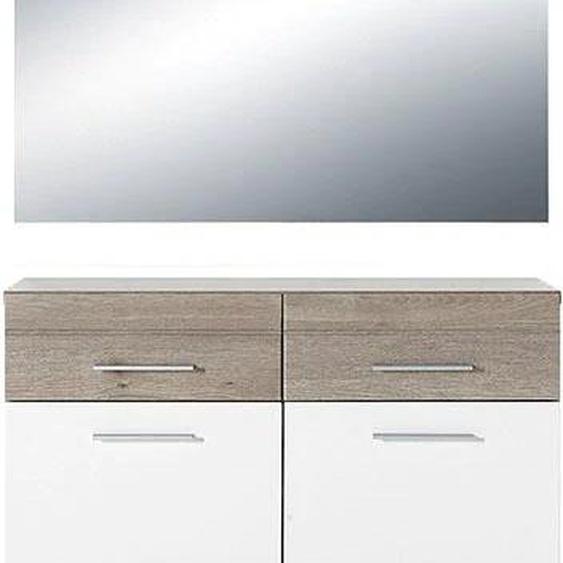 GERMANIA Garderoben-Set GW-Malou, (Set, 2 tlg.) Einheitsgröße weiß Kompaktgarderoben Garderoben