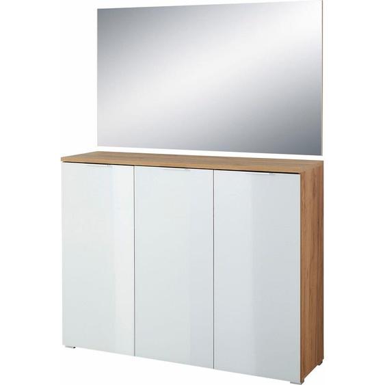 GERMANIA Garderoben-Set GW-Telde, (Set, 2 tlg.) Einheitsgröße weiß Kompaktgarderoben Garderoben