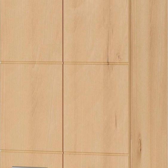 GERMANIA Garderobenschrank, 59 x 197 x 37 BxHxT cm , braun »Adana«, Hochglanz-Fronten