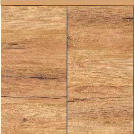 GERMANIA Garderobenschrank, 59 x 199 x 34 BxHxT cm , braun, Material Metall »GW-FREMONT«