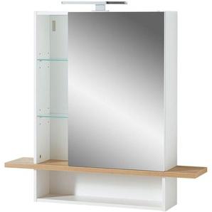 Germania Spiegelschrank »GW-Novolino«, 1 Spiegeltür, offene Fächer mit verstellbaren Böden