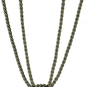 Gerster Raffhalter Sanja, mit Quaste B: 80 cm grün Zubehör für Gardinen Vorhänge