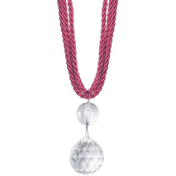 Gerster Raffhalter Sissi B: 65 cm rosa Zubehör für Gardinen Vorhänge