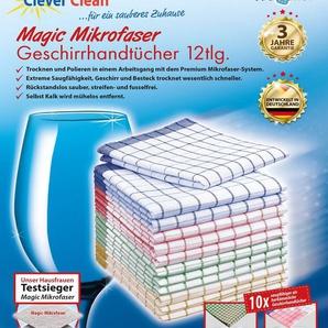 Geschirrtuch »CleverClean®Magic Mikrofaser«, Teleshop